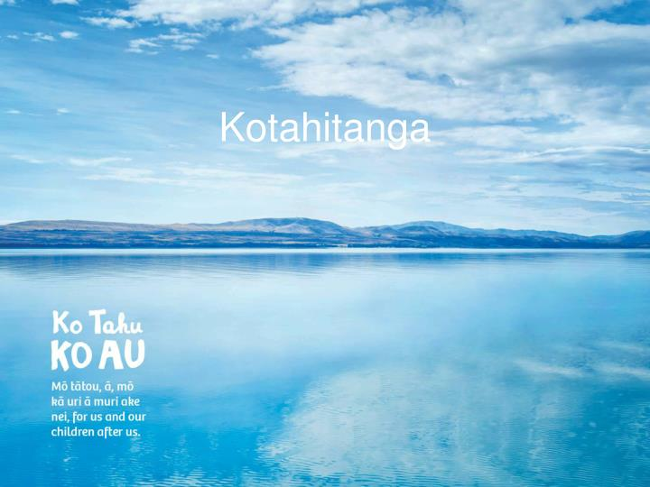 Kotahitanga