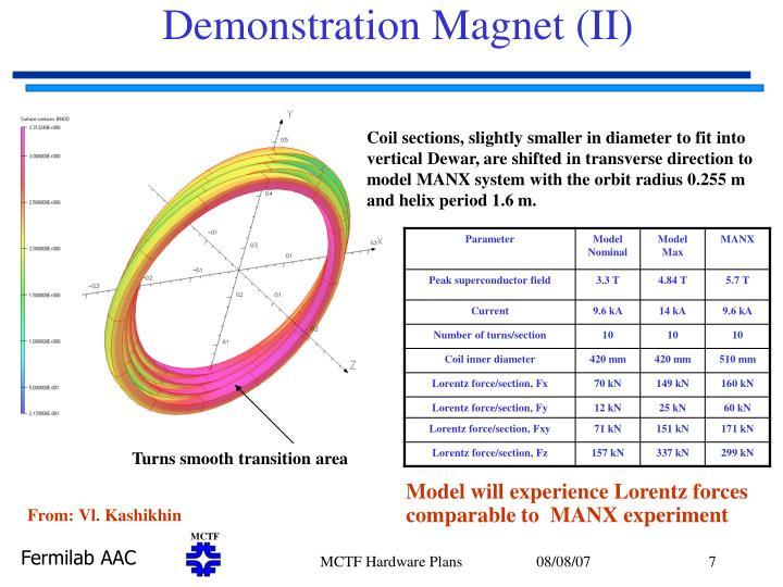 Demonstration Magnet (II)
