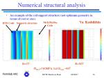 numerical structural analysis