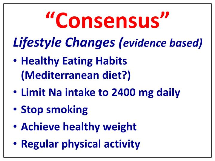 """""""Consensus"""""""