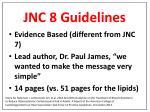 jnc 8 guidelines1