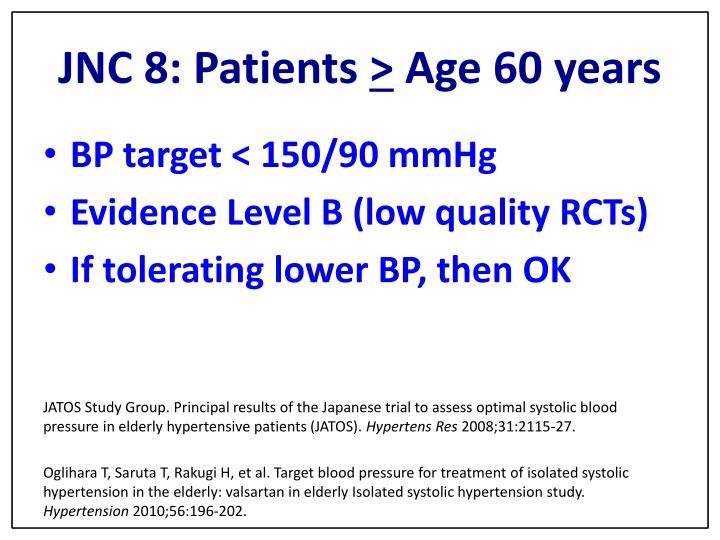 JNC 8: Patients