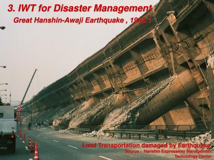 3. IWT for Disaster Management