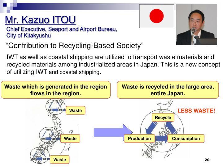 Mr. Kazuo ITOU