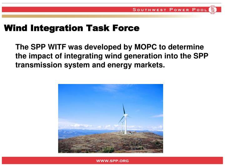 Wind Integration Task Force
