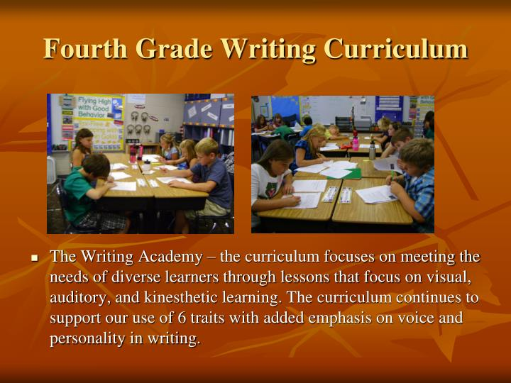 Fourth Grade Writing Curriculum