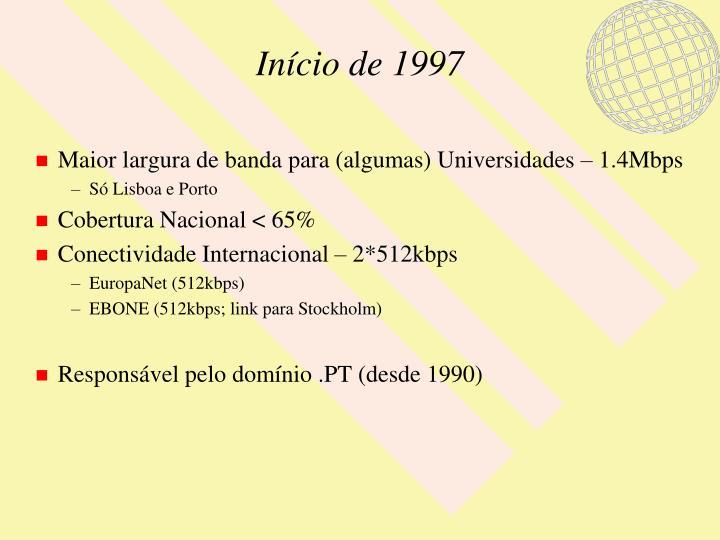Início de 1997