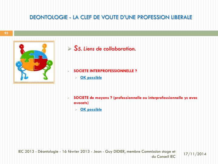 DEONTOLOGIE - La CLEF