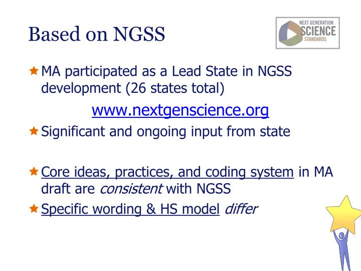 Based on NGSS