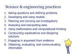 science engineering practices