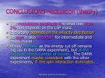 conclusions modulation theory