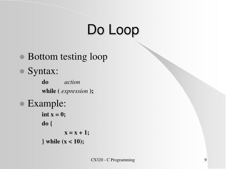 Do Loop