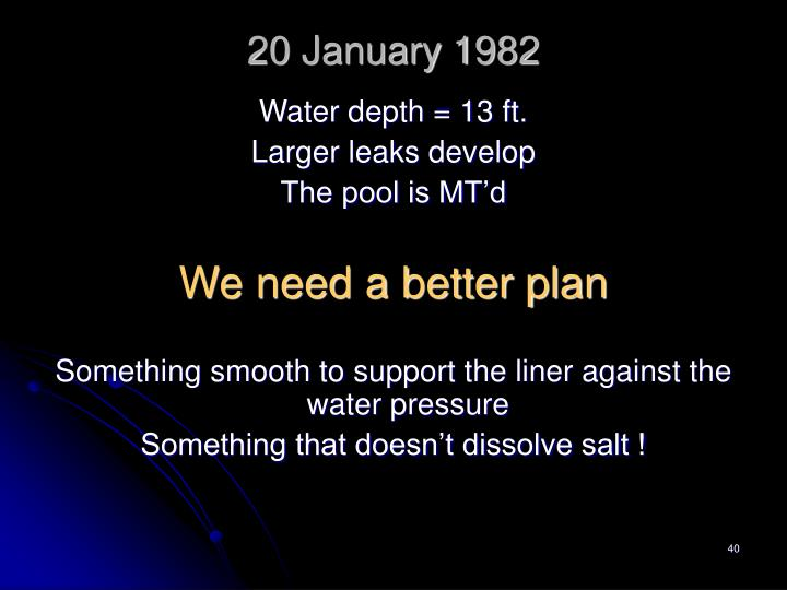 20 January 1982