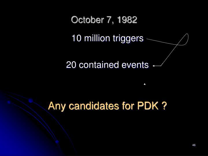 October 7, 1982