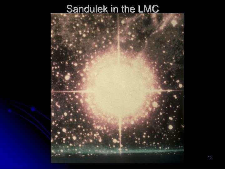 Sandulek in the LMC