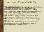 adverse effects of nsaids