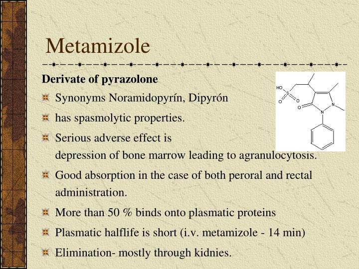 Metamizole