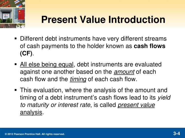 Present Value Introduction