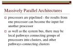 massively parallel architectures3