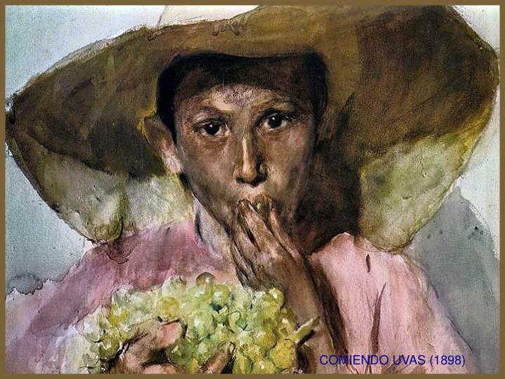 COMIENDO UVAS (1898)