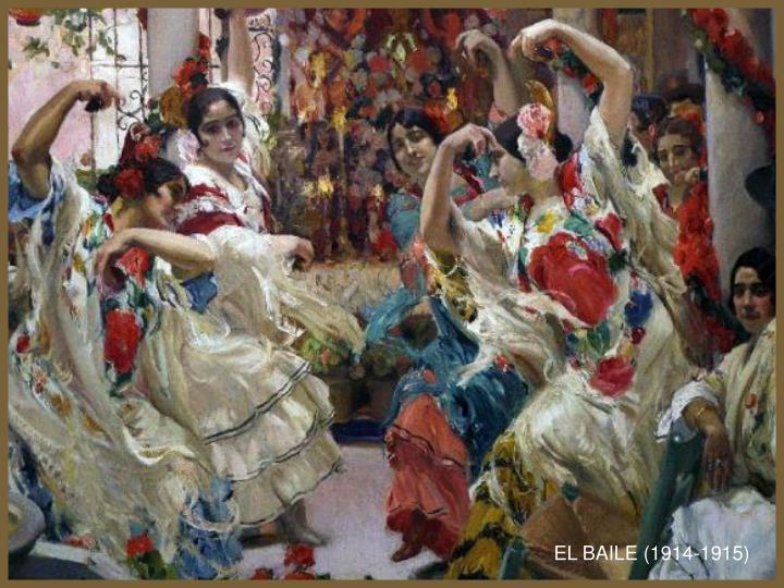 EL BAILE (1914-1915)