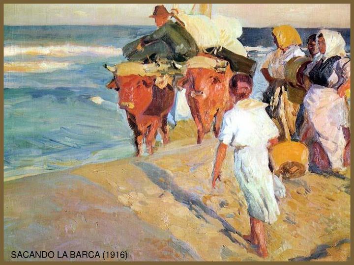 SACANDO LA BARCA (1916)