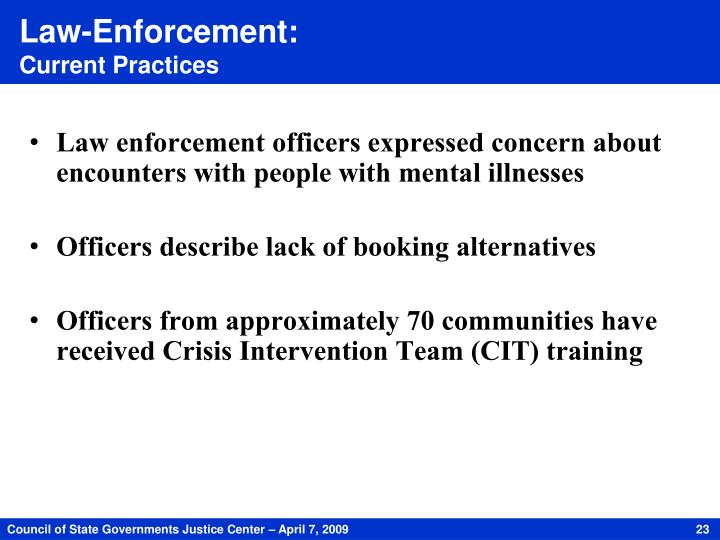 Law-Enforcement: