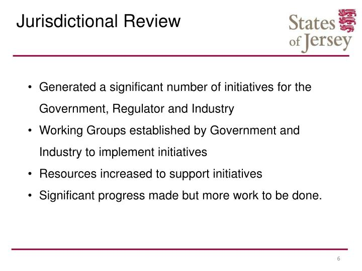 Jurisdictional Review