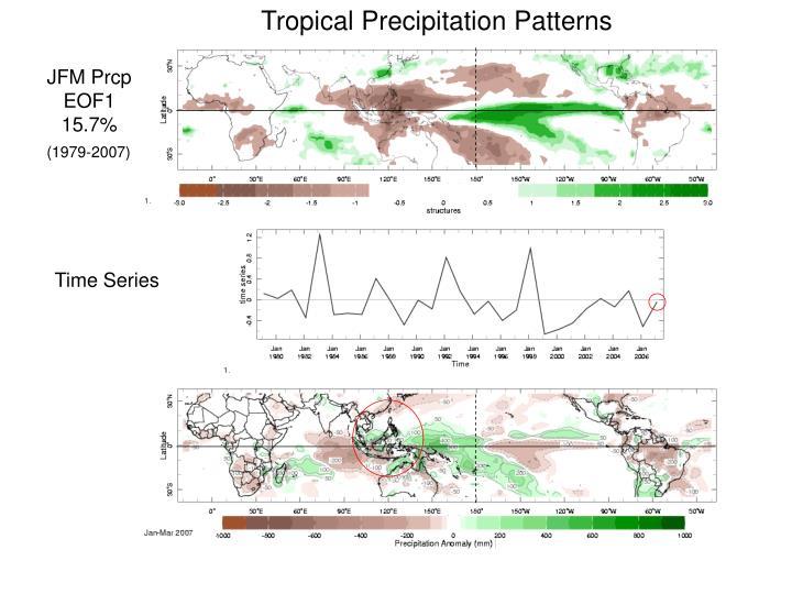 Tropical Precipitation Patterns