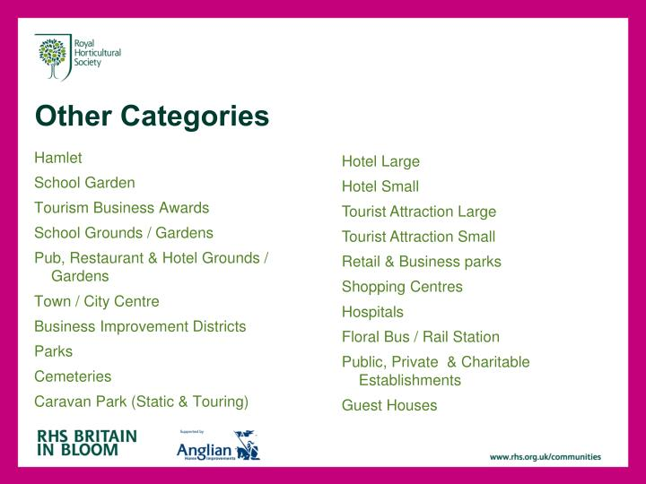 Other Categories