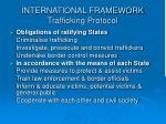 international framework trafficking protocol