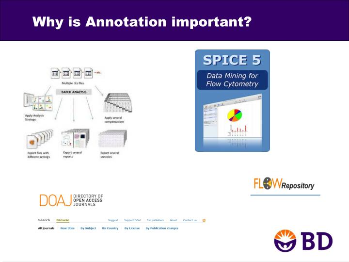 Why is Annotation important?