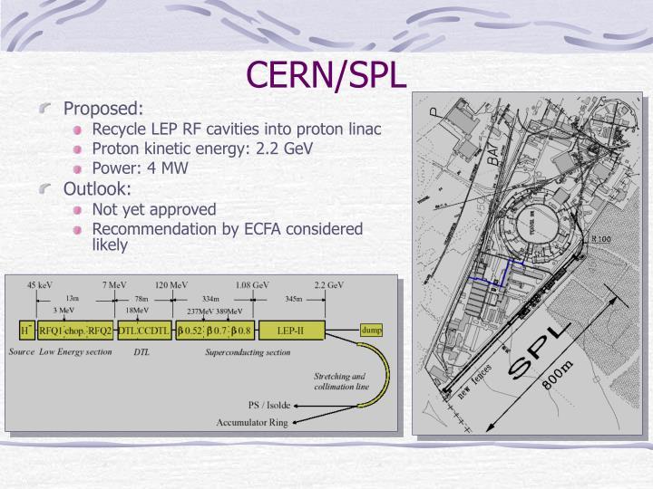 CERN/SPL