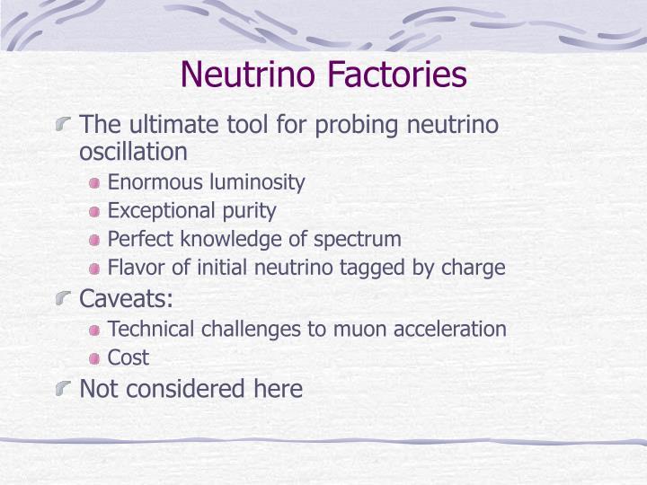 Neutrino Factories