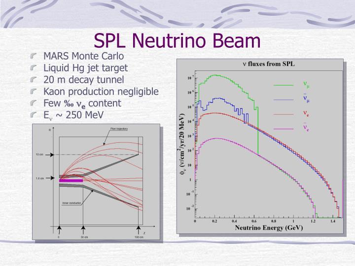 SPL Neutrino Beam