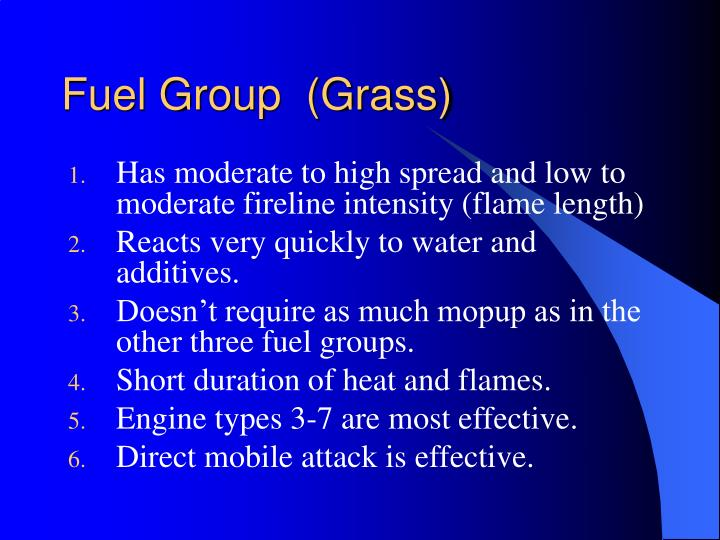 Fuel Group  (Grass)