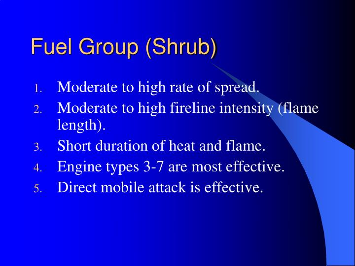 Fuel Group (Shrub)