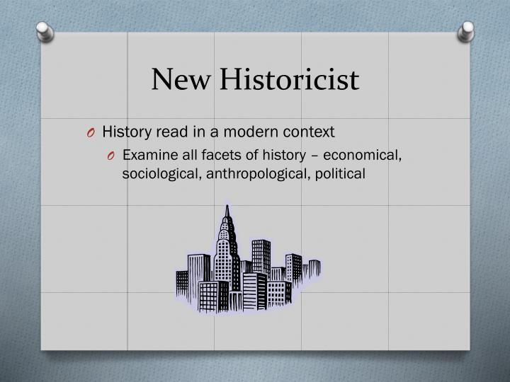 New Historicist
