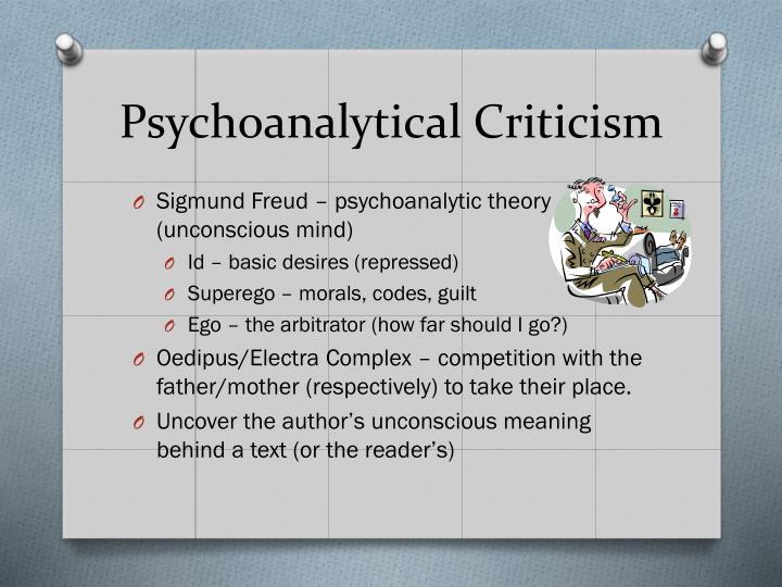 Psychoanalytical