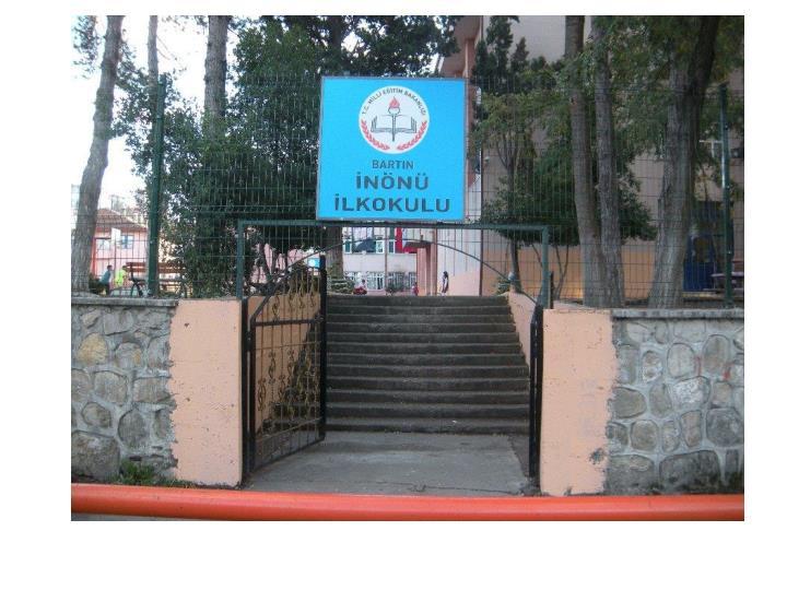 İnönü ilkokulu-çevre düzenlemesi