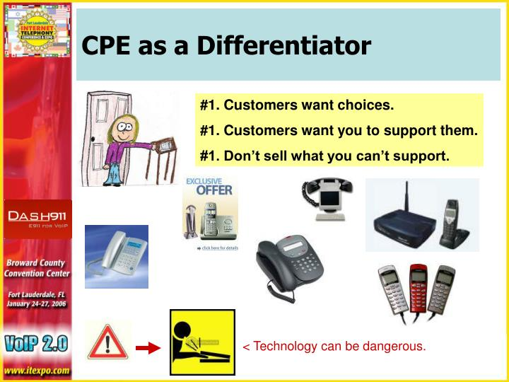 CPE as a Differentiator
