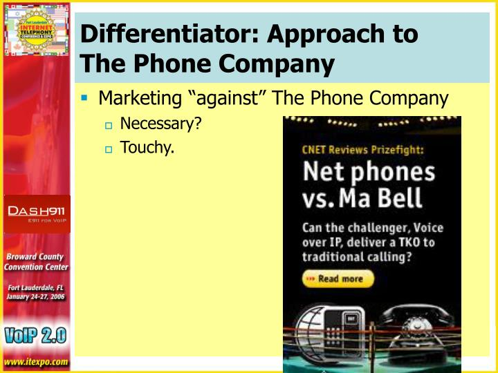 Differentiator: Approach to