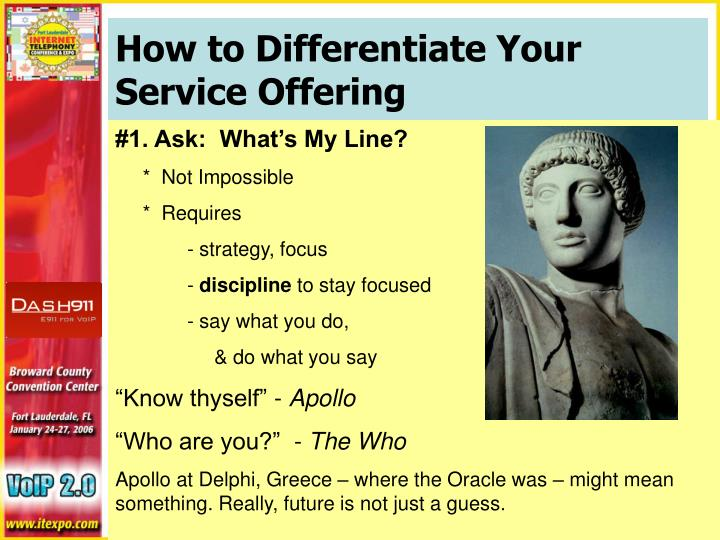 How to Differentiate Your Service Offering
