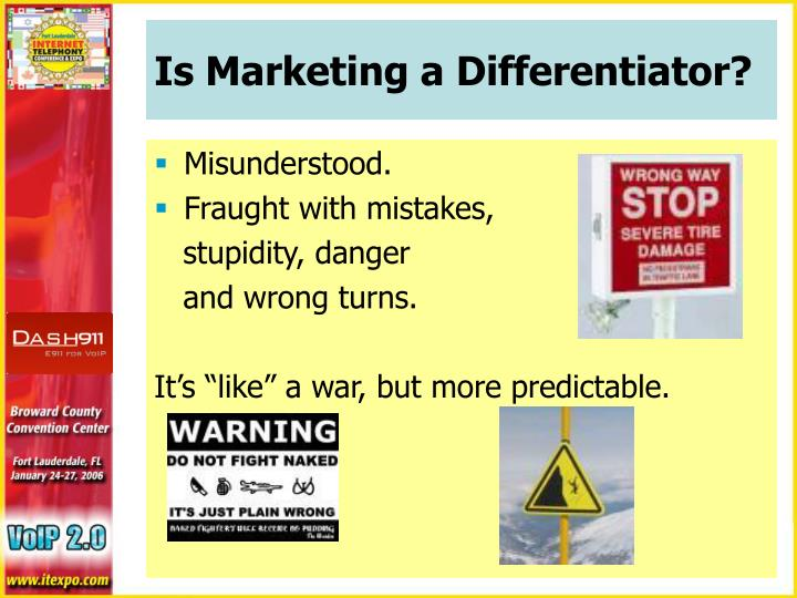 Is Marketing a Differentiator?