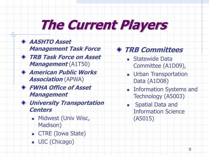 AASHTO Asset Management Task Force