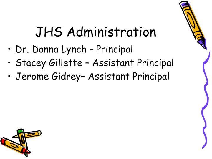 JHS Administration