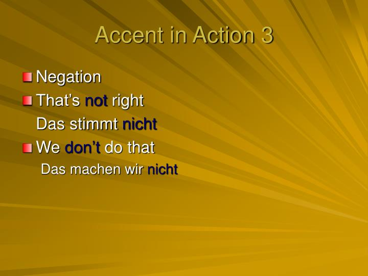 Accent in Action 3