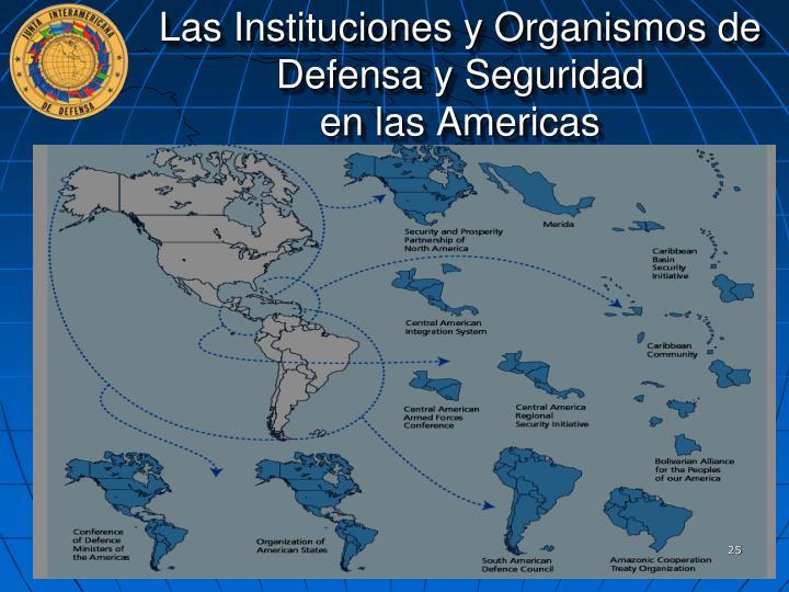 Las Instituciones y Organismos de Defensa y Seguridad