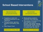 school based interventions1