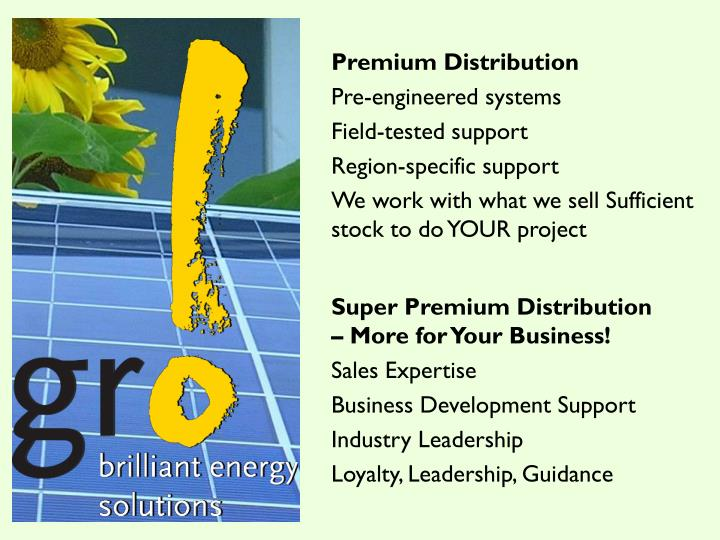 Premium Distribution